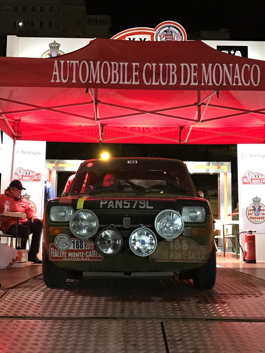 1972 Abarth 127 Regularity Rally car Ex Monte Historic For Sale (picture 5 of 6)