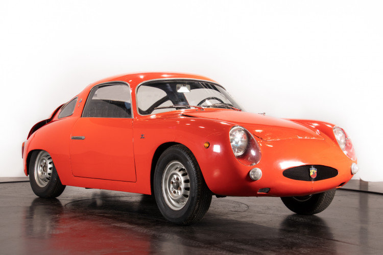 Abarth 750 Bialbero Record Monza Zagato -1960 For Sale (picture 1 of 6)