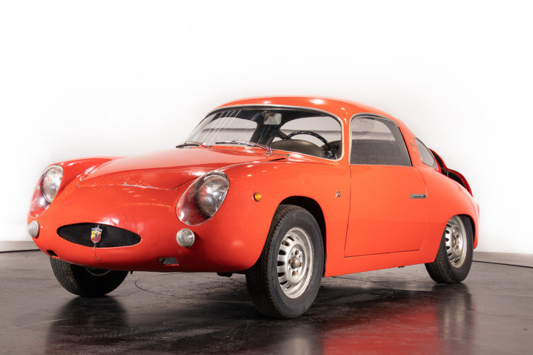 Abarth 750 Bialbero Record Monza Zagato -1960 For Sale (picture 2 of 6)