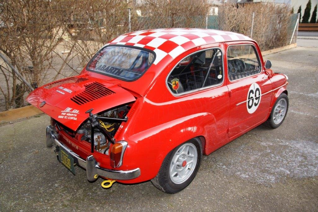 Extremely rare RHD 1963 Abarth 1000TC Recreation  For Sale (picture 2 of 6)