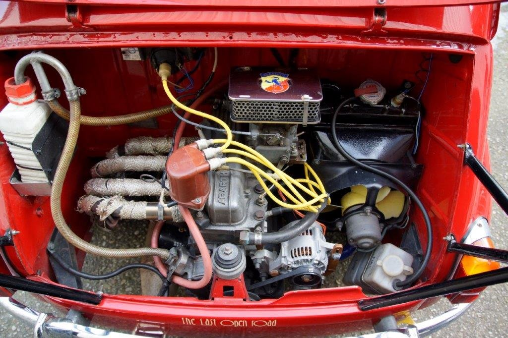Extremely rare RHD 1963 Abarth 1000TC Recreation  For Sale (picture 4 of 6)