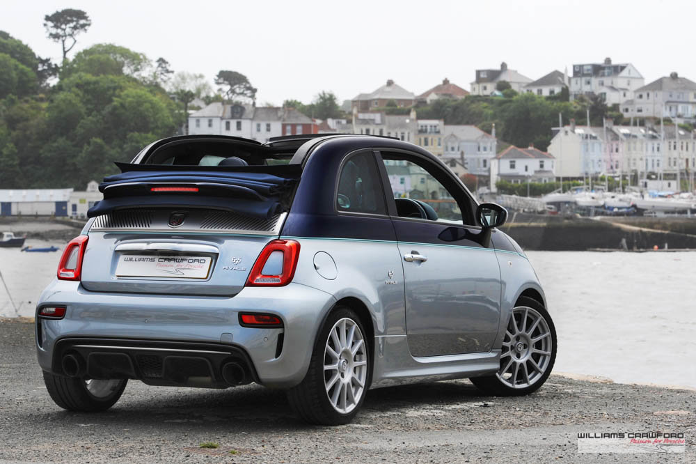 2018 RESERVED - Abarth 695 Rivale convertible auto SOLD (picture 3 of 6)