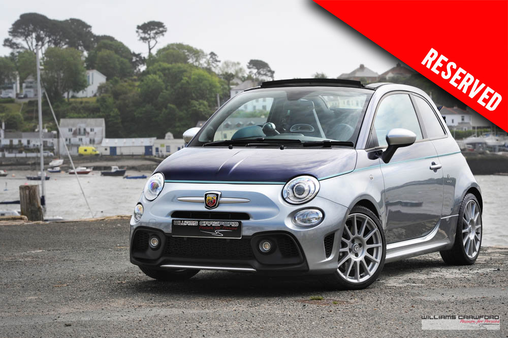 2018 RESERVED - Abarth 695 Rivale convertible auto SOLD (picture 1 of 6)