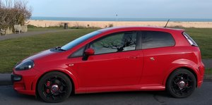 ABARTH PUNTO EVO     LOW MILES     SABELT SEATS