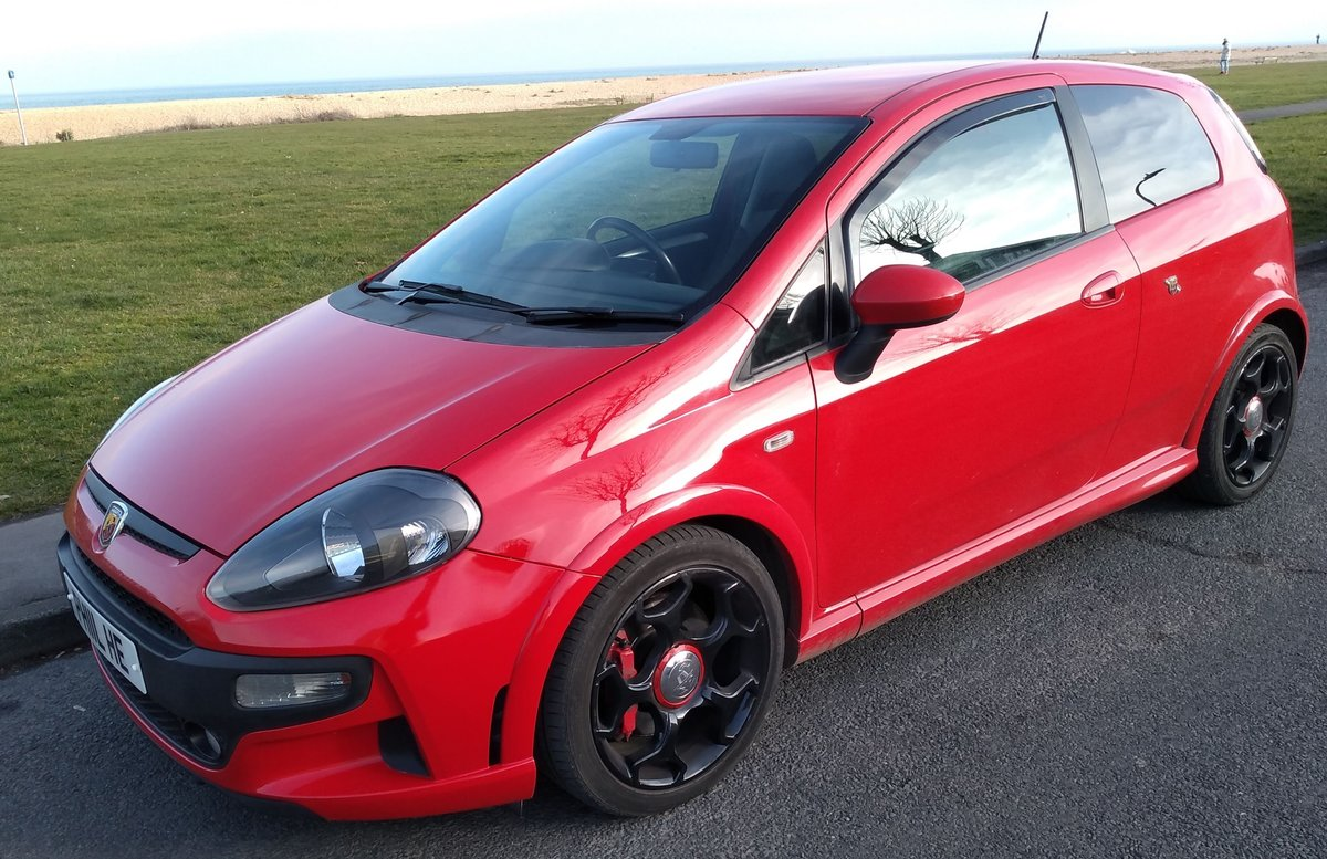 2011 ABARTH PUNTO EVO     LOW MILES     SABELT SEATS For Sale (picture 2 of 6)