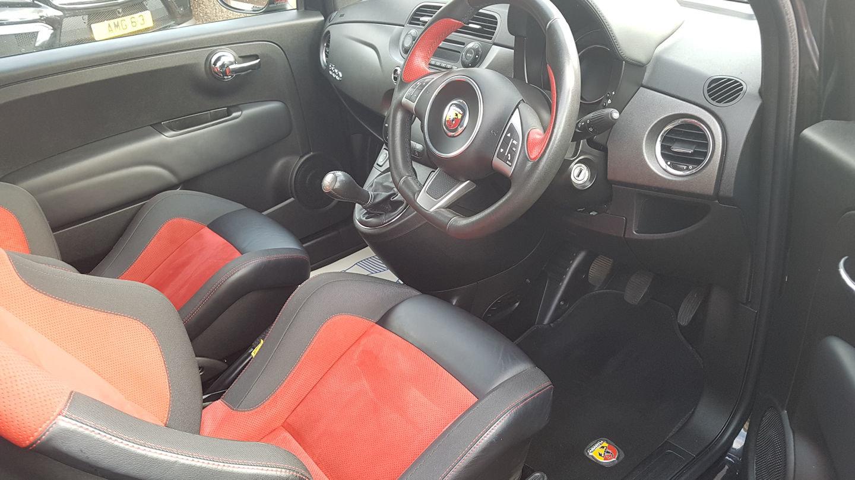 2015 Abarth 595 Competizione - rare model c/w upgrades 230Bhp For Sale (picture 3 of 6)