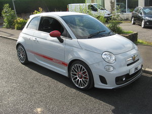 Abarth 500 1.4 T-Jet 135bhp manual finished in solid grey