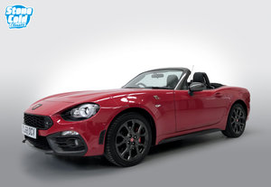 2018 Abarth 124 Spider Multiair auto  4,870 miles  1 owner