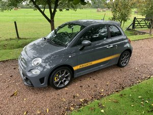 As new 8600 mile abarth 595 1 owner