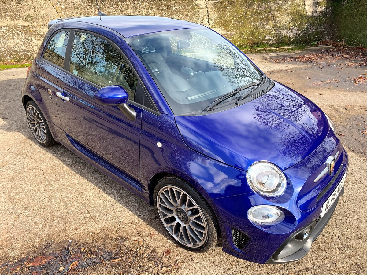 2018 Abarth 595 manual 9800m with FSH SOLD (picture 1 of 6)