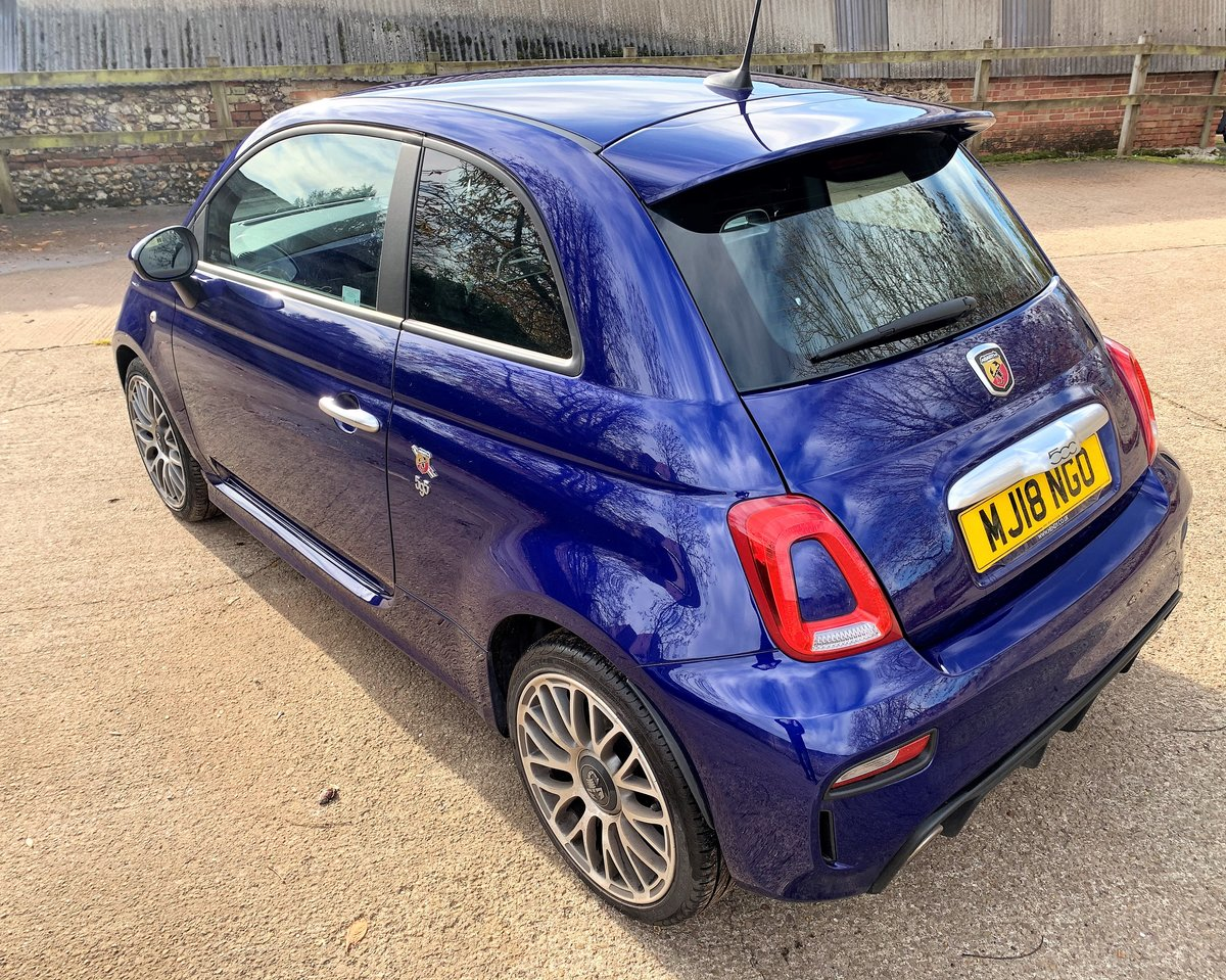 2018 Abarth 595 manual 9800m with FSH SOLD (picture 3 of 6)