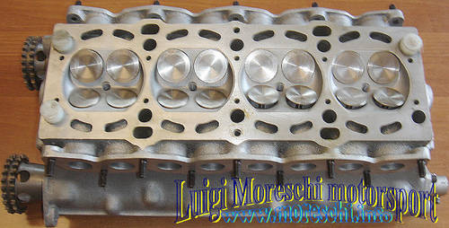 1969 Abarth 4-valve cylinder head complete For Sale (picture 2 of 6)