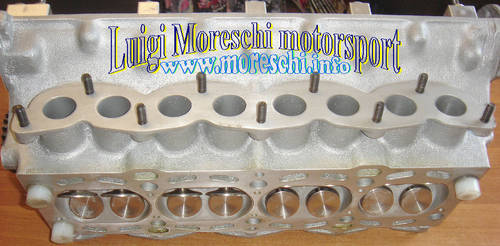 1969 Abarth 4-valve cylinder head complete For Sale (picture 4 of 6)
