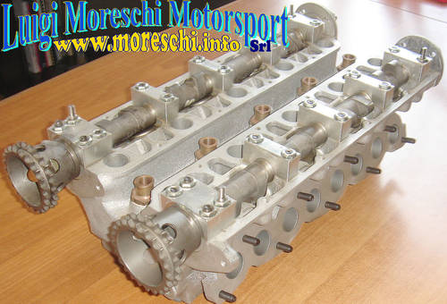 1969 Abarth 4-valve cylinder head complete For Sale (picture 1 of 6)