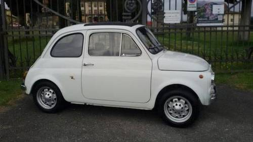1965 Abarth 595 ALL ORIGINAL For Sale (picture 1 of 4)