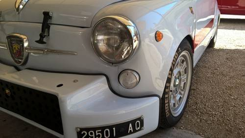 1965 Abarth 1000 TCR CUSTOM in Like New Condition For Sale (picture 5 of 6)