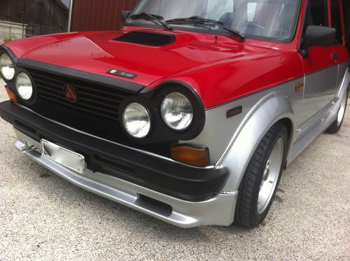 1983 Lancia Abarth A112 RS Angsten, 70 HP For Sale (picture 5 of 6)