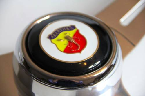 1970 CLASSIC FIAT ABARTH 1000TC 750 DOUBLE BUBBLE STEERING WHEEL For Sale (picture 2 of 3)