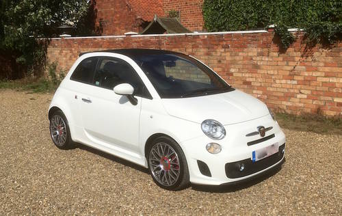 2014 Abarth 500 595 Convertible 500C - FSH - NEW PRICE SOLD (picture 1 of 6)