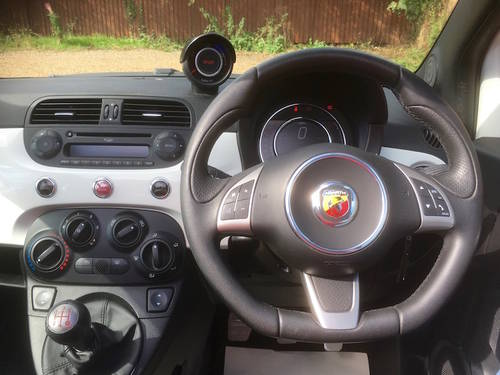 2014 Abarth 500 595 Convertible 500C - FSH - NEW PRICE SOLD (picture 2 of 6)