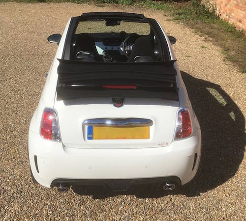 2014 Abarth 500 595 Convertible 500C - FSH - NEW PRICE SOLD (picture 6 of 6)