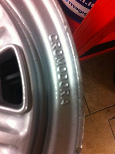 Cromodora wheels for Abarth For Sale (picture 4 of 6)