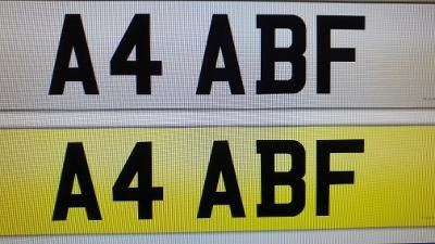 A4 ABF  &  A7 ABF For Sale (picture 1 of 2)