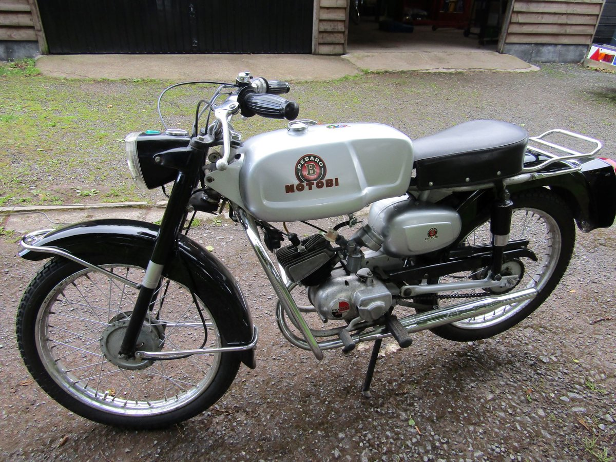1967 Rare Italian Motobi 50cc moped/motorcycle For Sale (picture 1 of 6)
