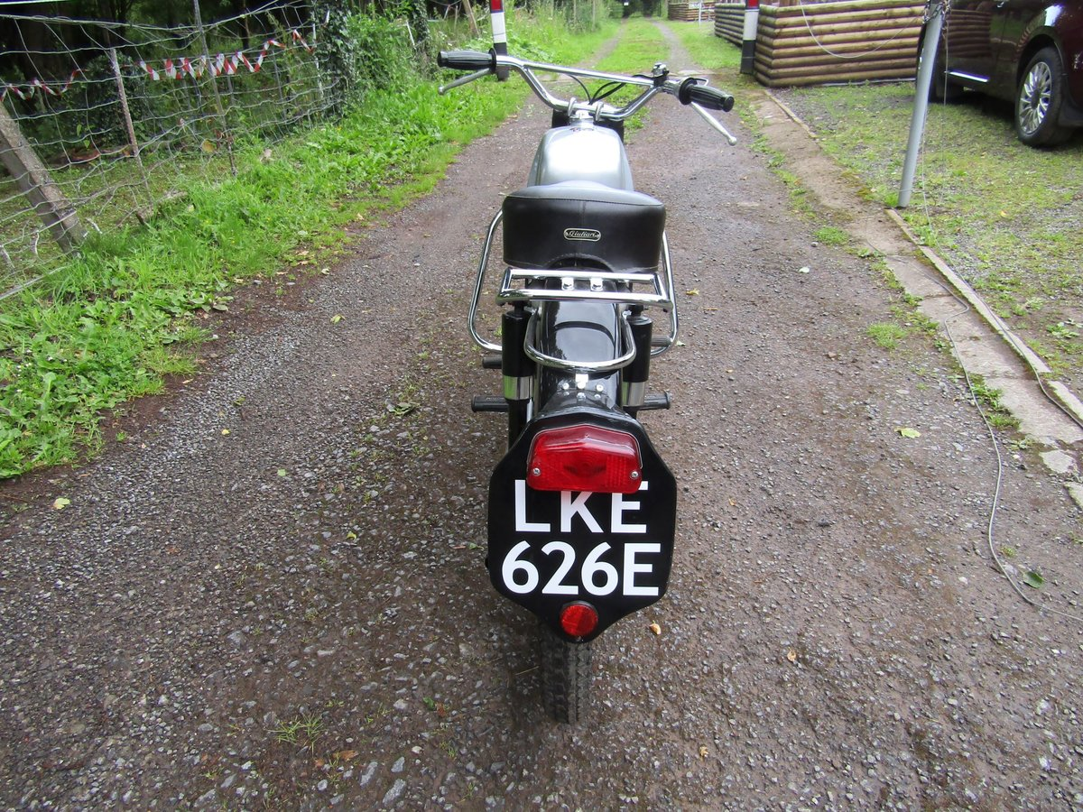 1967 Rare Italian Motobi 50cc moped/motorcycle For Sale (picture 3 of 6)