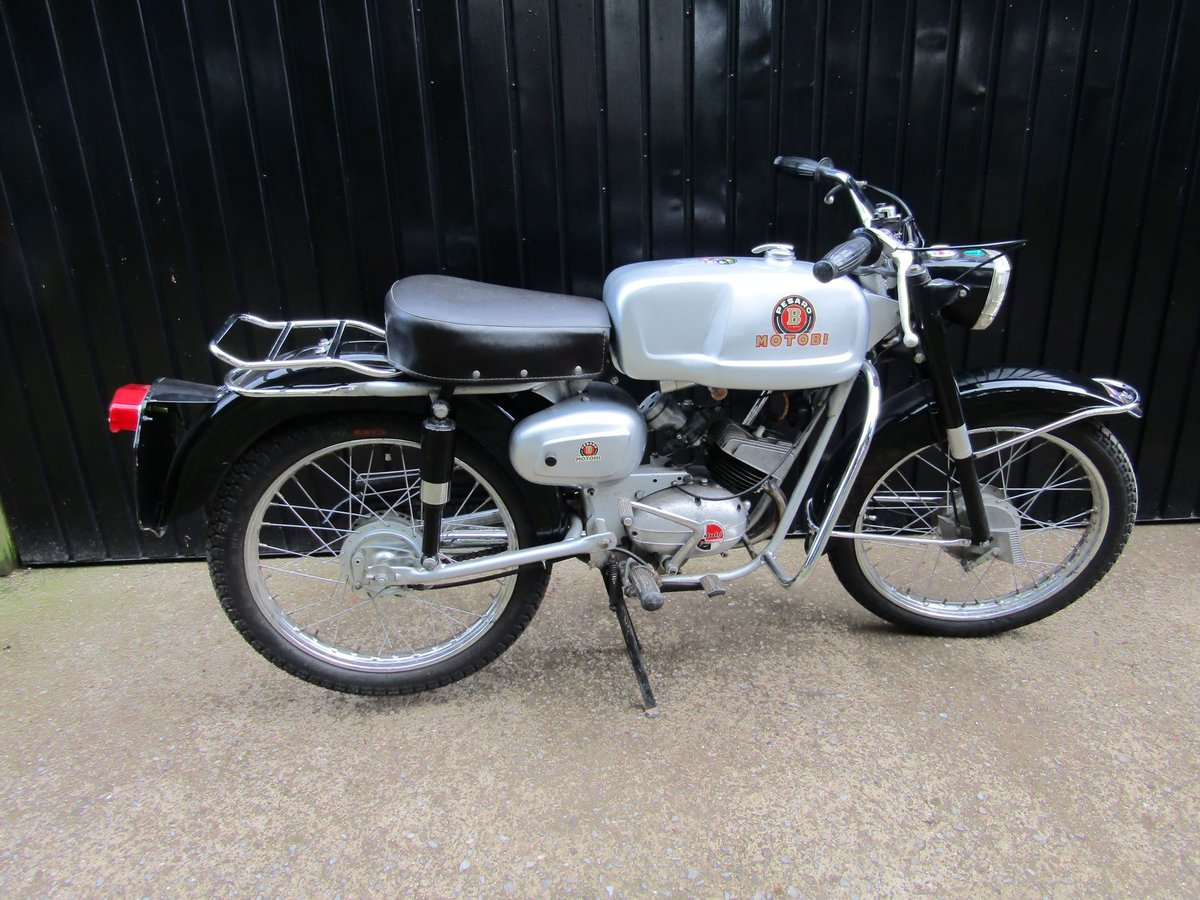 1967 Rare Italian Motobi 50cc moped/motorcycle For Sale (picture 6 of 6)