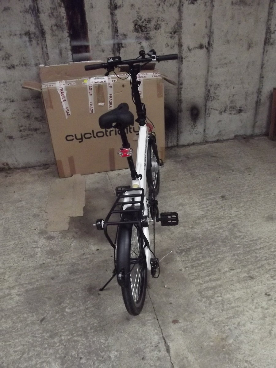 2020 Cyclotricity folding electric bike, as new For Sale (picture 5 of 6)