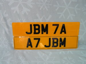 Matching Pair JBM7A and A7JBM on Retention