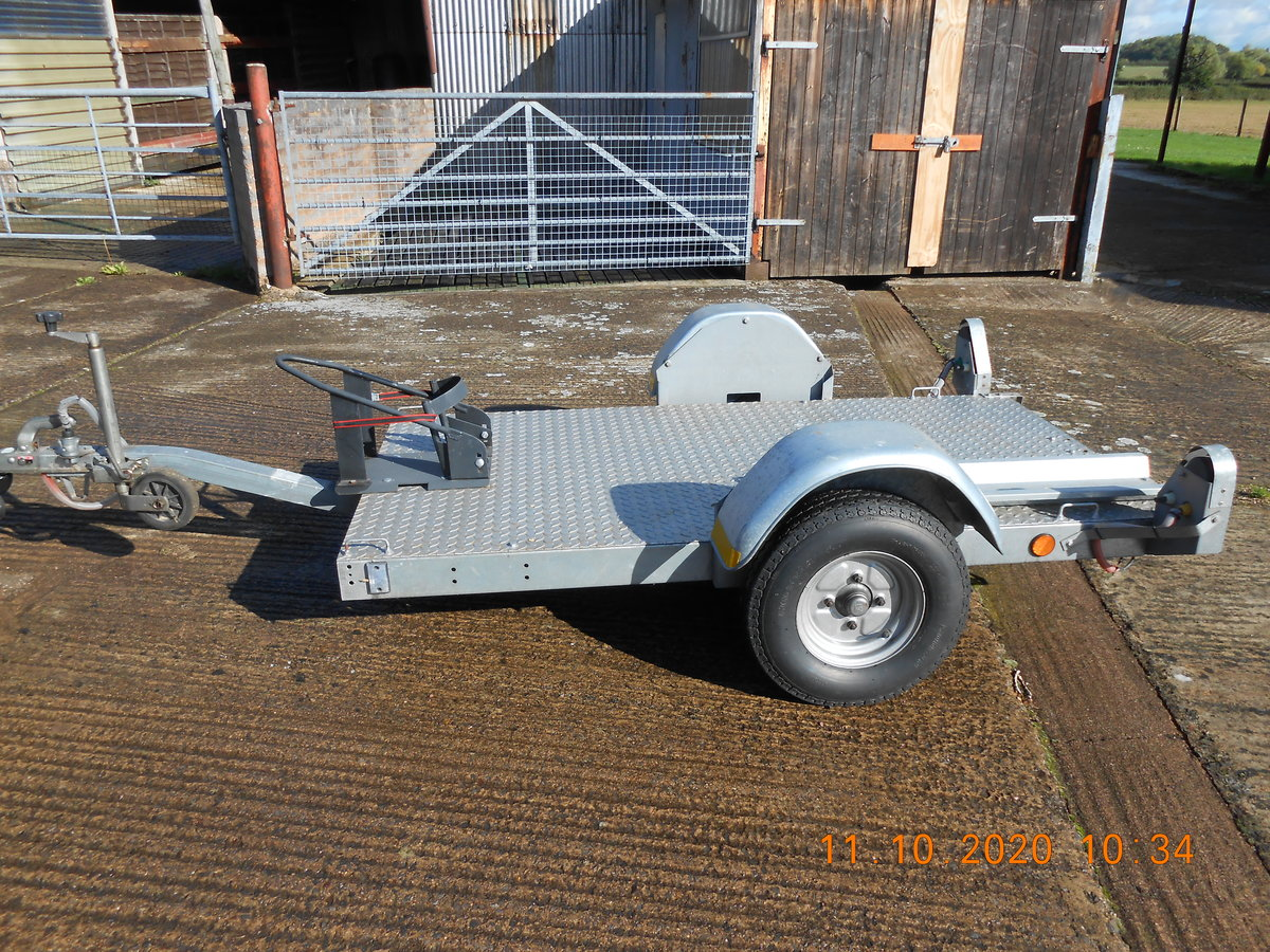 2001 Single Motorcycle Trailer For Sale (picture 2 of 4)