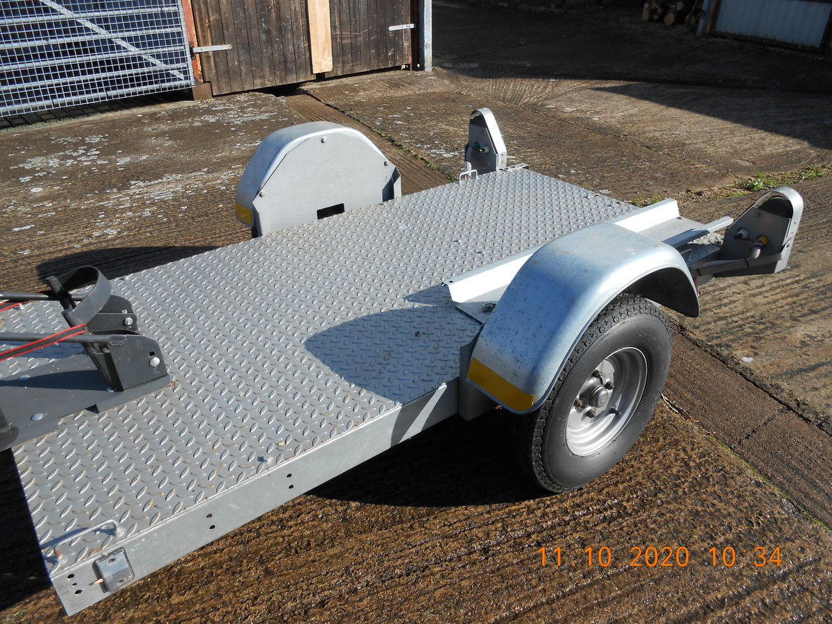2001 Single Motorcycle Trailer For Sale (picture 4 of 4)