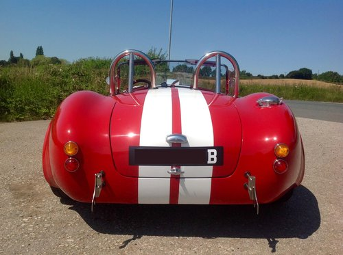 1964 Ford 418W Stroker powered Back Draft Cobra For Sale (picture 6 of 6)