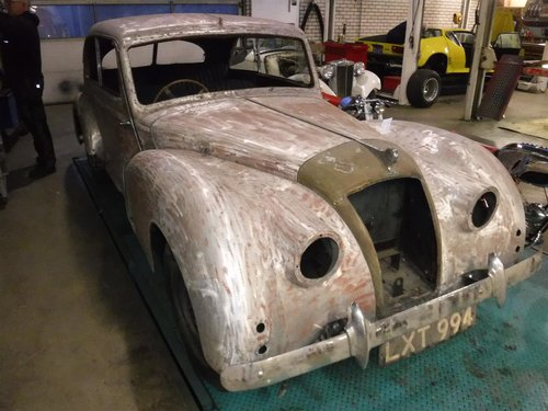 1951 AC coupe RHD project to restore For Sale (picture 1 of 5)