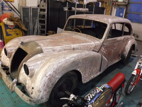 1951 AC coupe RHD project to restore For Sale (picture 2 of 5)