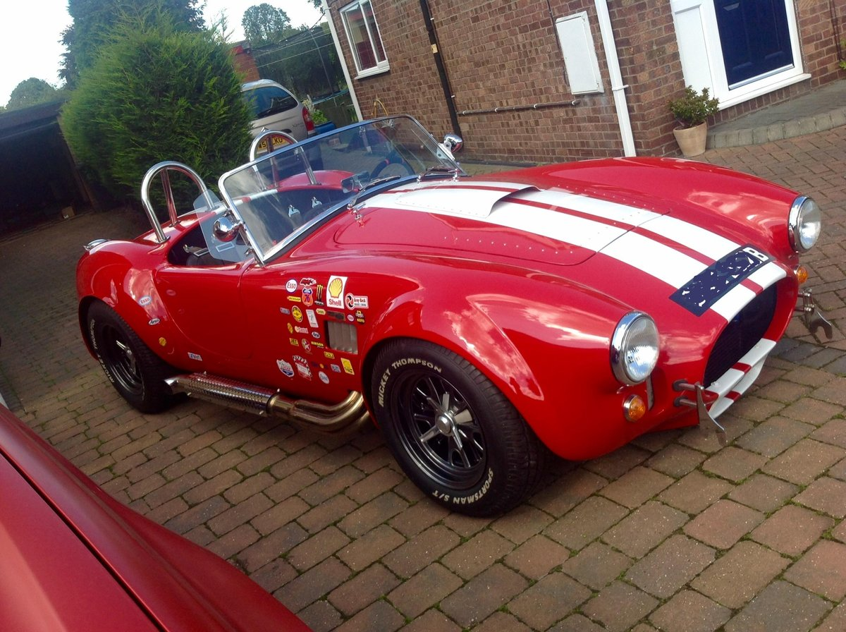 1964 Ford 418W Stroker powered Back Draft Cobra For Sale (picture 2 of 6)