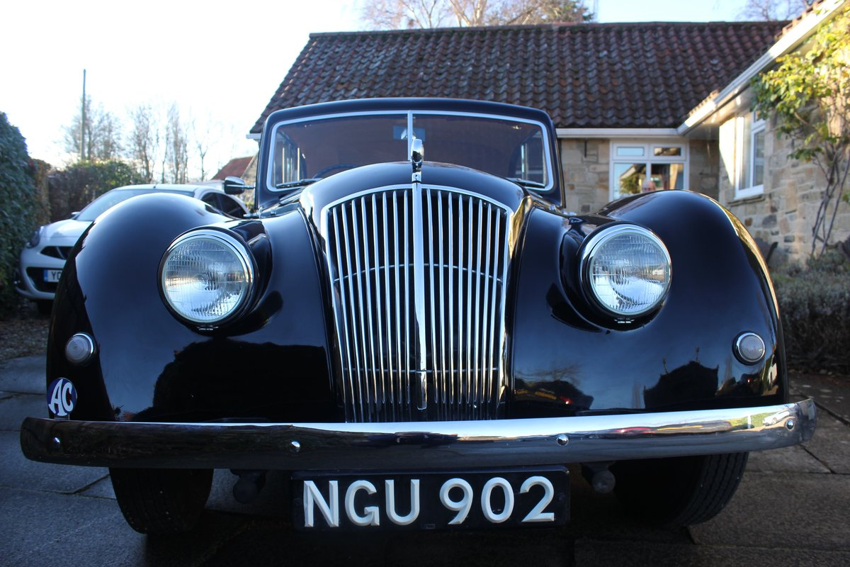 1952 AC Saloon - Excellent Condition - Last Owner 40 yrs For Sale (picture 1 of 6)