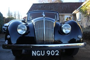 1952 AC Saloon - Excellent Condition - Last Owner 40 yrs