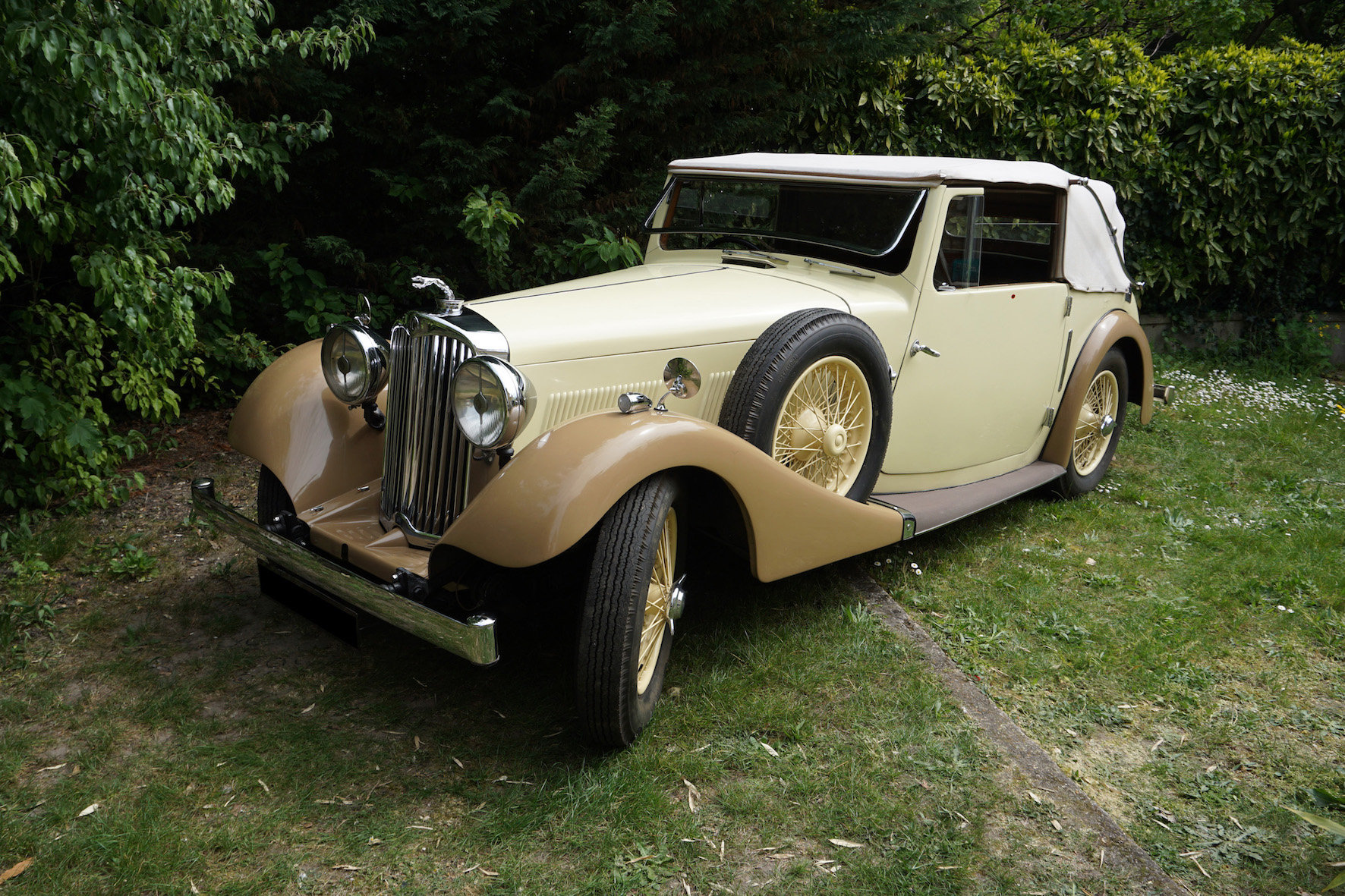 1938 Rare AC 16/70 drophead coupe For Sale (picture 1 of 6)