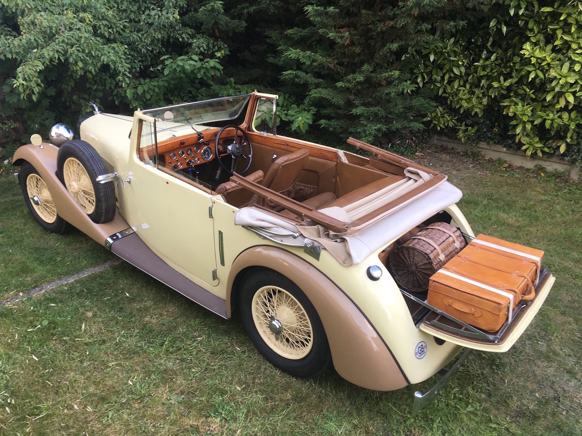 1938 Rare AC 16/70 drophead coupe For Sale (picture 3 of 6)