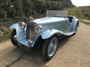 1937 AC 16/80 Short-chassis Competition Sports For Sale