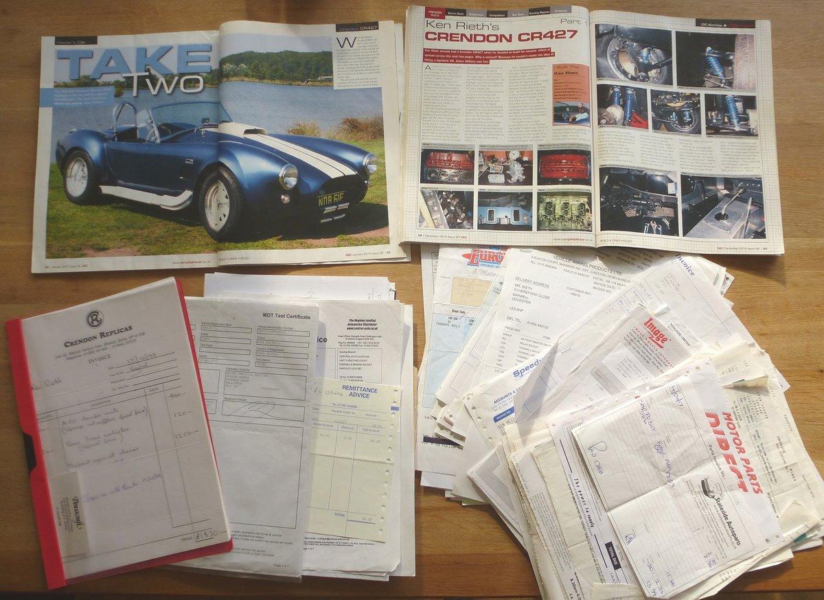 2005 Crendon Cobra CR427 427 SC Big Block Ford 7.4 V8 For Sale (picture 6 of 6)