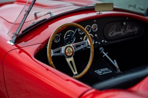 1965 Shelby Cobra CSX4000 427 S/C Red low 575 miles $104.5k  For Sale (picture 6 of 6)