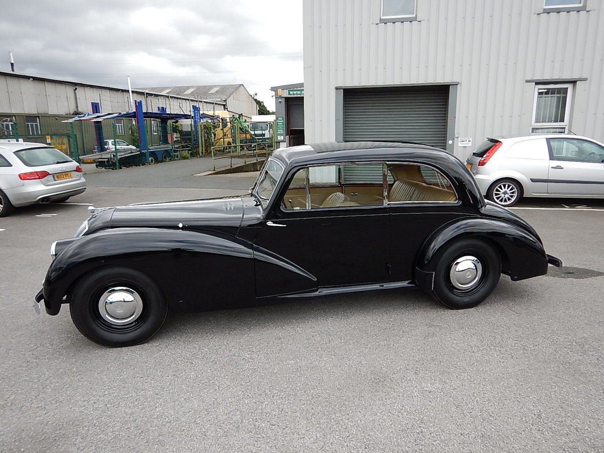 1952 AC 2-Litre Two Door Saloon For Sale (picture 1 of 6)