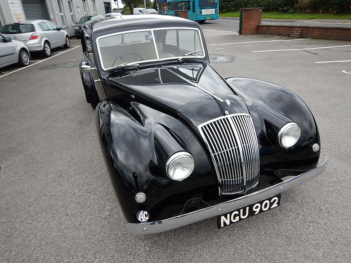 1952 AC 2-Litre Two Door Saloon For Sale (picture 2 of 6)