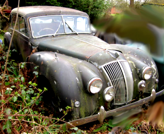 1953 AC 2-litre Saloon For restoration or parts For Sale (picture 1 of 2)