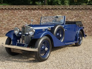 1935 AC 16/70 Six 4-Seater Drophead Coupe Pre-War. For Sale