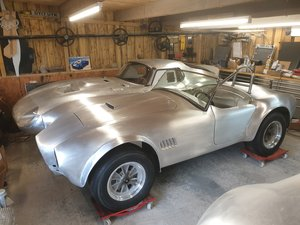 AC COBRA 289FIA ALUMINIUM BODY TOOLROOM RECREATION For Sale